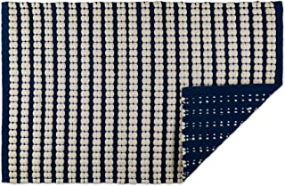 DII Indoor Braided Cotton Handloomed Yarn Dyed Woven Reversible Area Rug for Bedroom, Living Room, Kitchen, 2x3' - Stripe ...