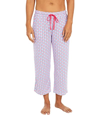 Karen Neuburger Sunday In Sorrento Capris Pants (Red Rose Geo) Women