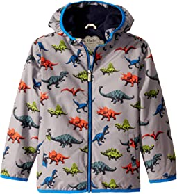 Toddler//Little Kids//Big Kids Hatley Kids Girls Multicolour Hearts Microfiber Rain Jacket