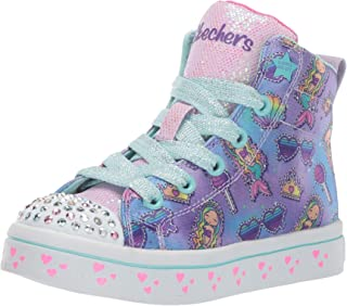 Skechers Kids' TWI-Lites-Mermaid Party Sneaker