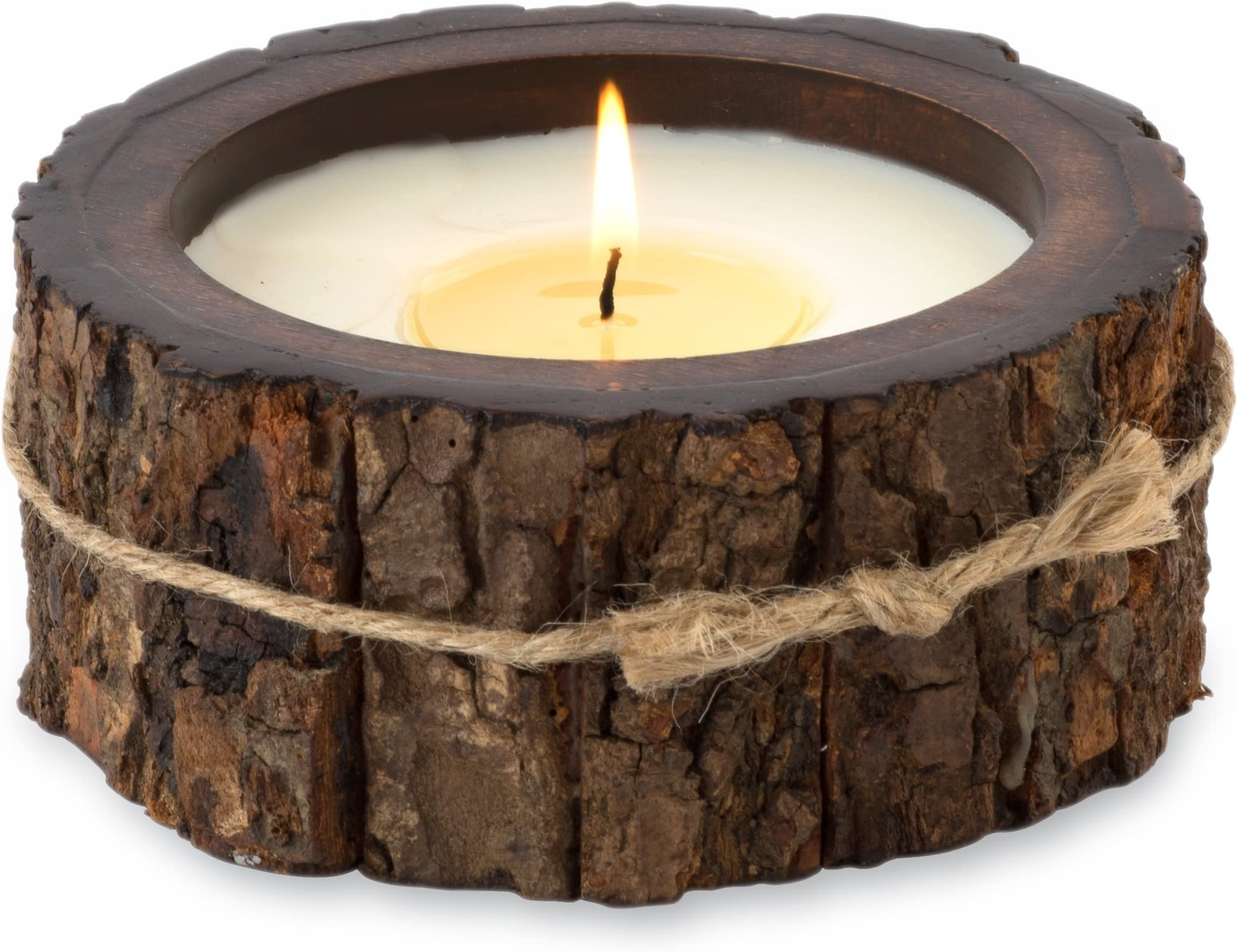 226,8/Gram Ginger Patchouli Himalayan Trading Post Fleur de Lys Soy Candle Tumbler