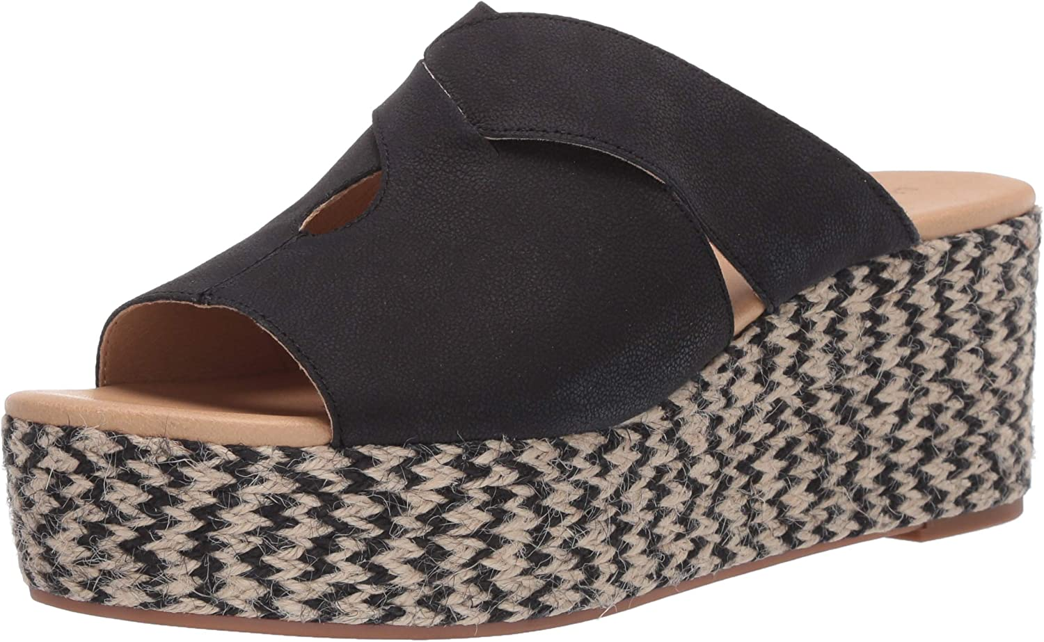 Lucky Brand Product Limited time sale Women's Genzy Sandal Espadrille Wedge