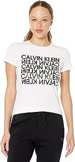 CALVIN KLEIN Women's Graphic Short Sleeve Tee