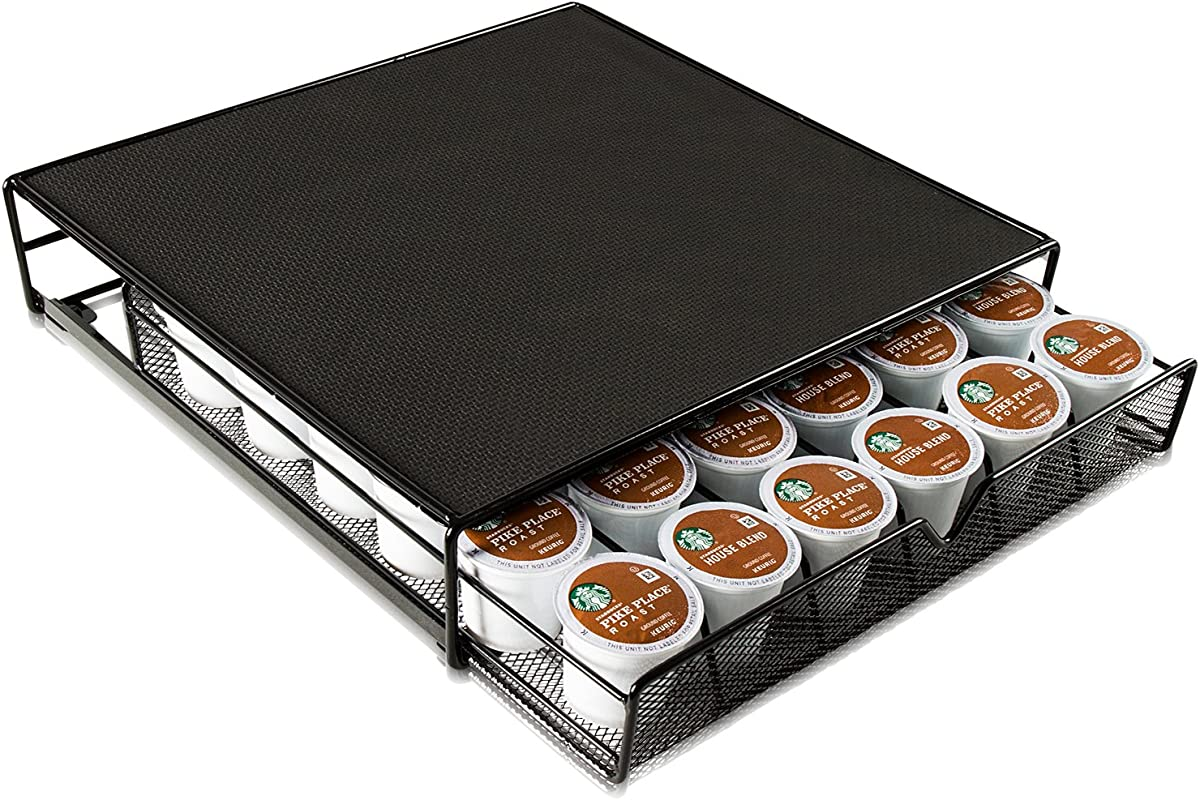 Ideal Traditions K Cup Holder Keurig Coffee Bar Accessories Kcup Holders 36 Coffee Pod Holder Storage Drawer