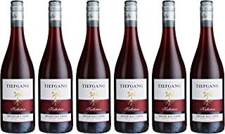 Tiefgang Qualitätswein Pfalz Spätburgunder Trocken Rouge 6 x 0.75 l