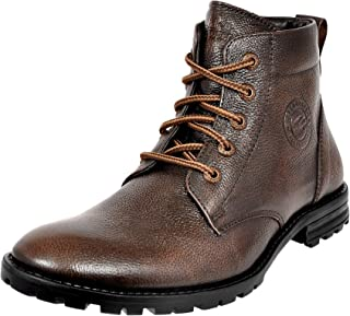 Allen Cooper ACCS-823 High Ankle Leather Boots