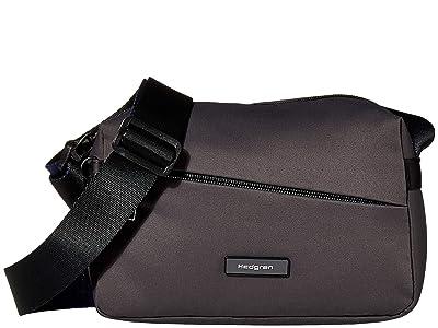 Hedgren Neutron Small Crossover (Galaxy Grey) Cross Body Handbags