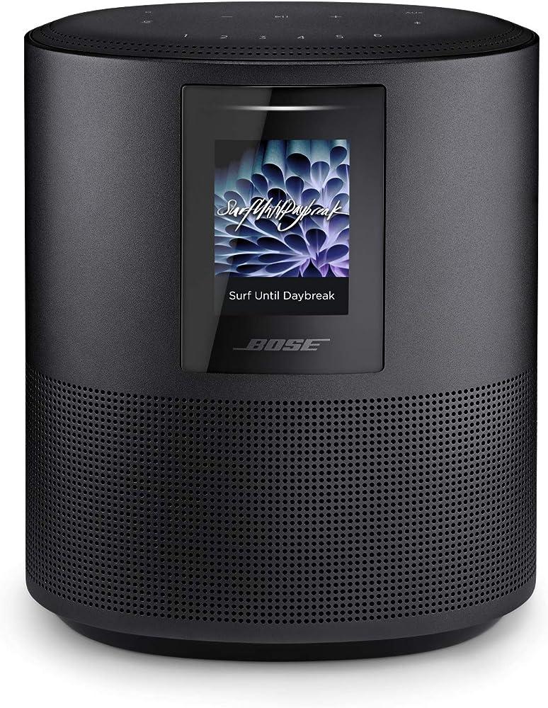 bose, home speaker 500, alexa integrata, triple black ,suono stereo 795345-2100