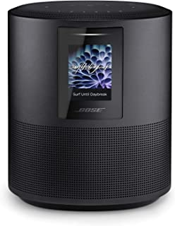 Bose Home Speaker 500, Triple Black, Smart Speaker with Bluetooth, Wi-Fi and Airplay 2