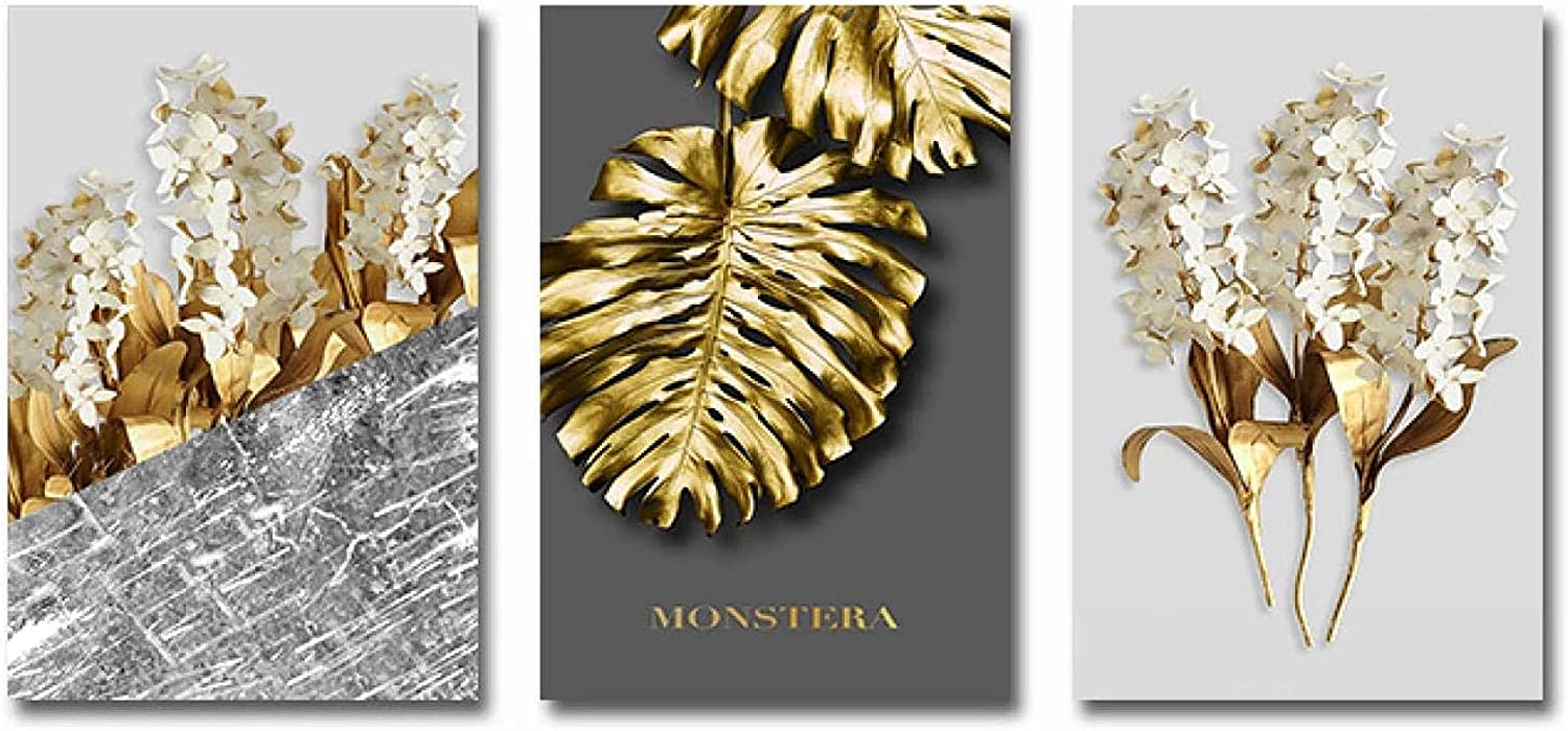 Poster Artworks 3 Piece 15.7x23.6in OFFicial Modern Gol No 40x60cm Frame Shipping included