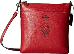 Minnie Mouse Messenger Crossbody With Motif ©Disney x COACH
