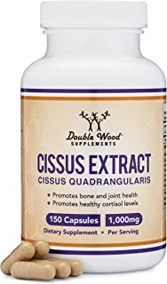 Sponsored Ad - Cissus Quadrangularis Super Extract , 150 Capsules, Made in The USA, Dietary Supplement for Joint and Tendo...