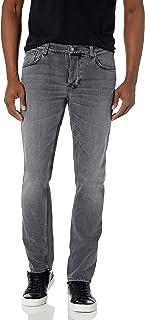 Nudie Unisex Grim Tim Pale Grey Jeans