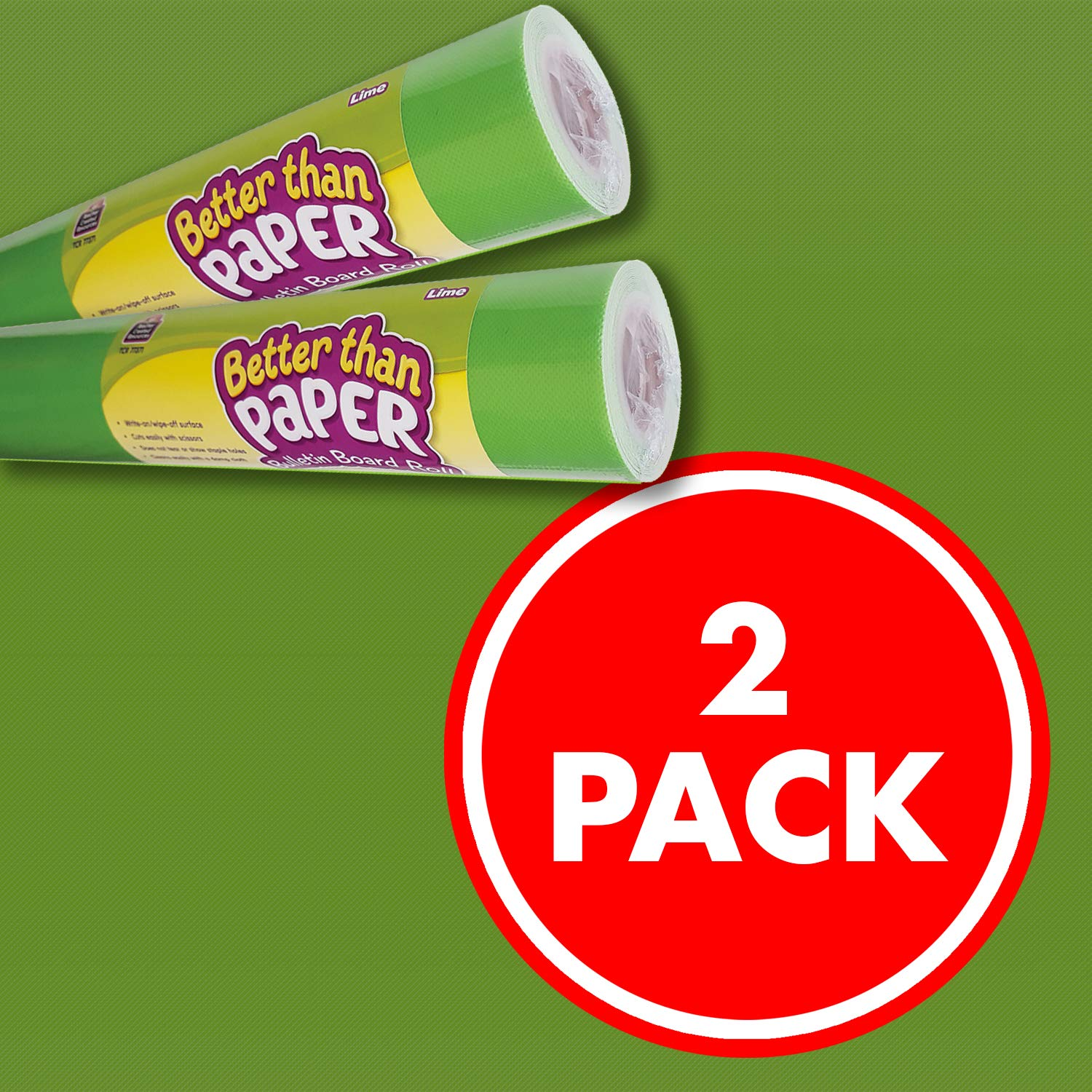Lime Better Than Paper Bulletin Board Roll