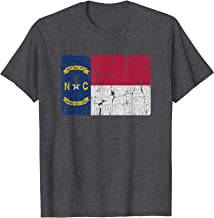 Vintage North Carolina Flag Retro NC Souvenir Gift Men Women T-Shirt