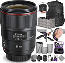 Canon EF 35mm f/1.4L II USM Lens with Altura Photo Essential Accessory and Travel Bundle