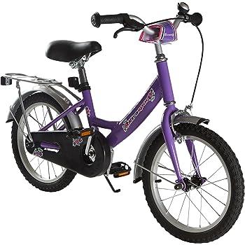 Ultrasport 331100000188 Bicicleta, Niñas, púrpura, 16 Pulgadas ...