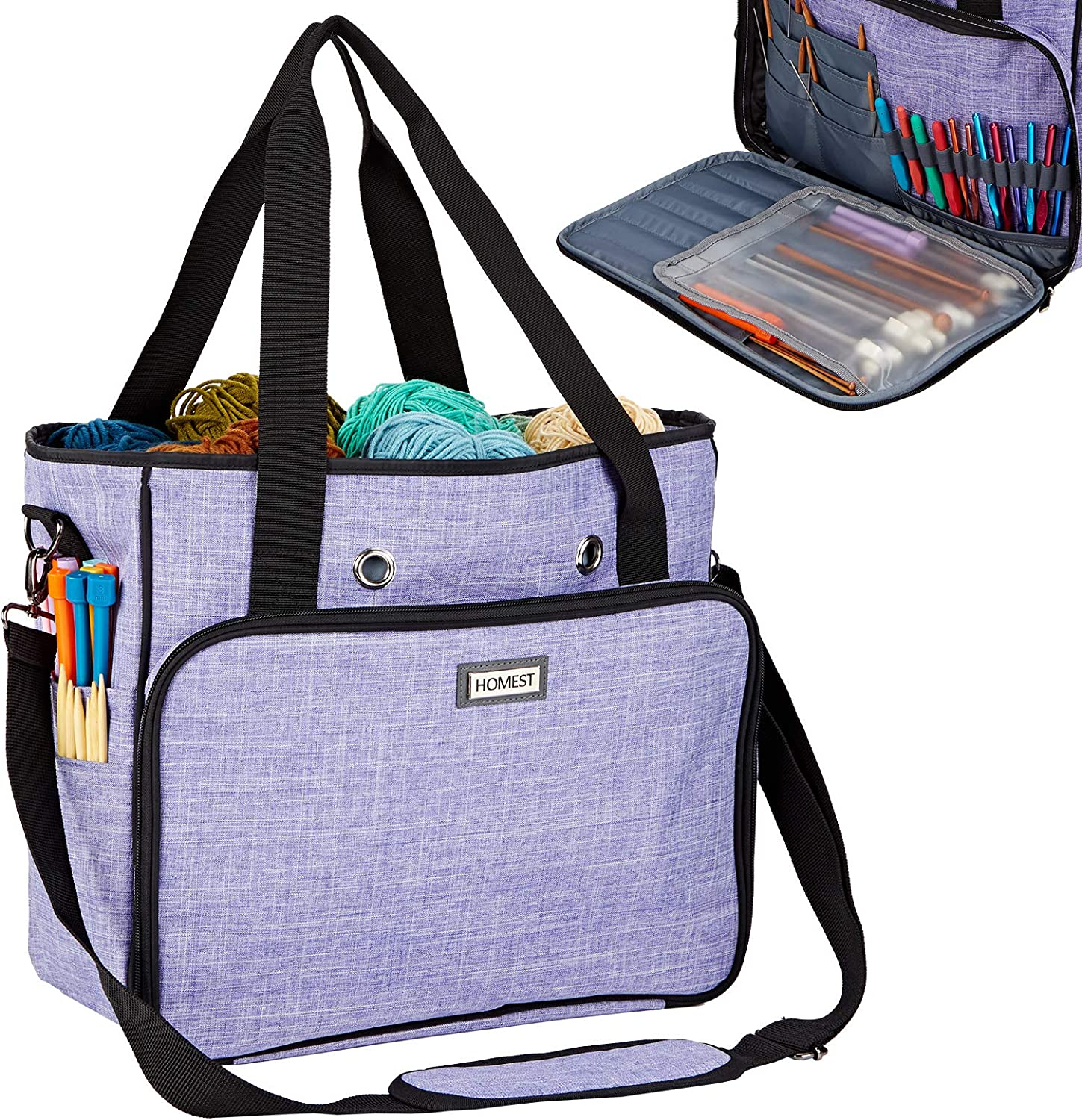 HOMEST Free Shipping Cheap Bargain Gift Large Yarn Storage for and Markers to Easy C Deluxe Stitch