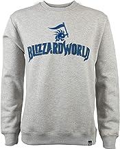 JINX Overwatch Blizzard World Pullover Crew Neck Sweatshirt