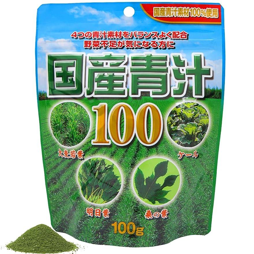 ホースレイプ軽くユウキ製薬 国産青汁100袋入り 約20-33日分 100g