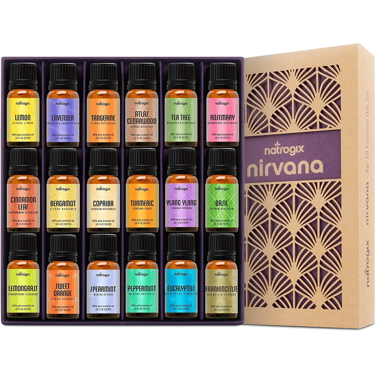 Natrogix Nirvana Essential Oils Book