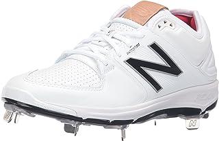 New Balance Men's L3000V3 Baseball Shoe, White/White, 16 D US