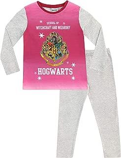 Pigiama Due Pezzi Harry Potter 5-6 Anni Hogwarts Ragazza Blu//Crema//Multicolore