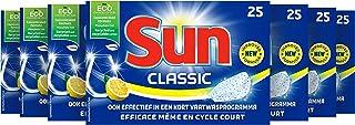 SUN Classic Vaatwastabletten Citroen - 175 tabletten - voor een gegarandeerd stralende vaat