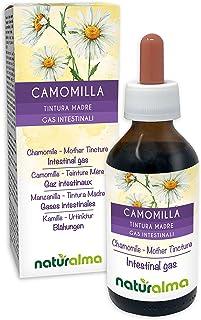 Echte und Römische Kamille Matricaria chamomilla und Chamaemelum nobile Blüten Alkoholfreier Urtinktur NATURALMA | Flüssig-Extrakt Tropfen 100 ml | Nahrungsergänzungsmittel | Veganer