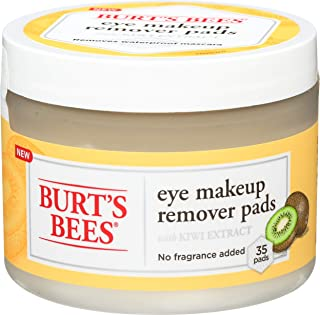 پدهای پاک کننده آرایش چشم برند Burt's Bees تعداد 35 عدد