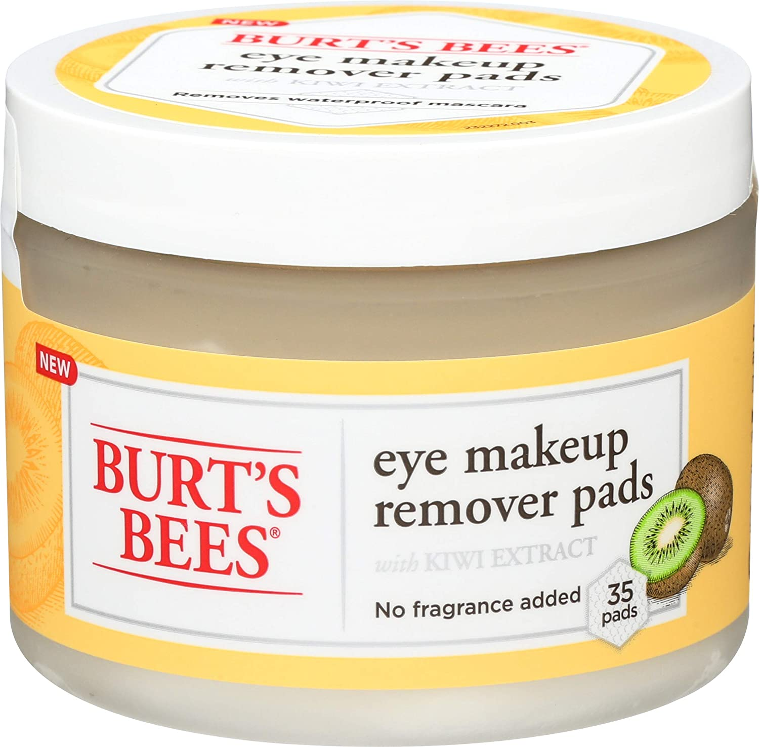 Burt's Bees Eye Makeup Remover Pads, 35 Count : Beauty & Personal Care