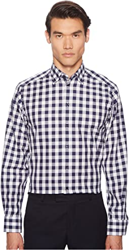 Contemporary Fit Bold Plaid Shirt