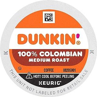 Sponsored Ad - Dunkin' 100% Colombian Medium Roast Coffee, 60 K Cups for Keurig Coffee Makers