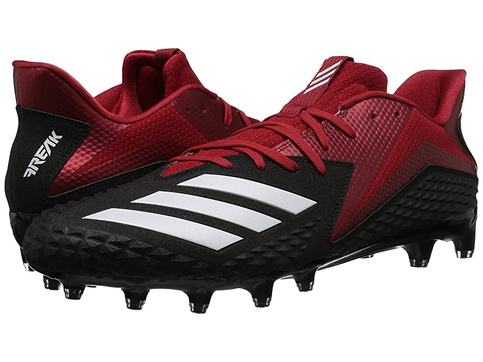 adidas Freak x Carbon Low (Core Black/Footwear White/Power Red) Men