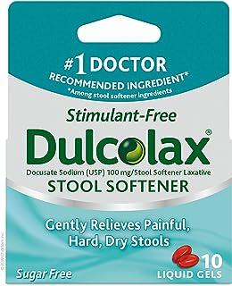 Dulcolax Dulcoease Stool Softener Liquid Gels, 10 Count