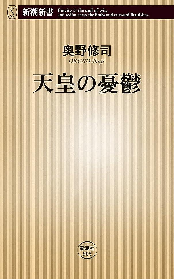 不安絵安心天皇の憂鬱(新潮新書)
