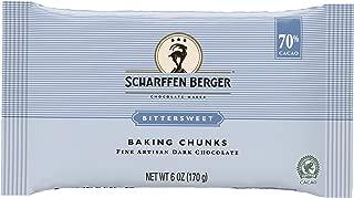 Scharffen Berger Bittersweet Chocolate Baking Chunks, 6 oz