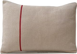 Cojín de lino europeo, cojín rectangular 30 x 40 cm BeccaTextile.