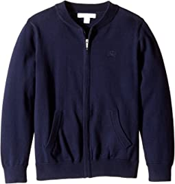 Burberry Kids - Core Cotton Branded Bomber (Little Kids/Big Kids)