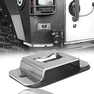 V8 GOD Bottle Opener Rear License Plate Tailgate Accessory for Jeep Wrangler 2007-2018JK & JKU Sport Sahara Rubicon 2&4 Door