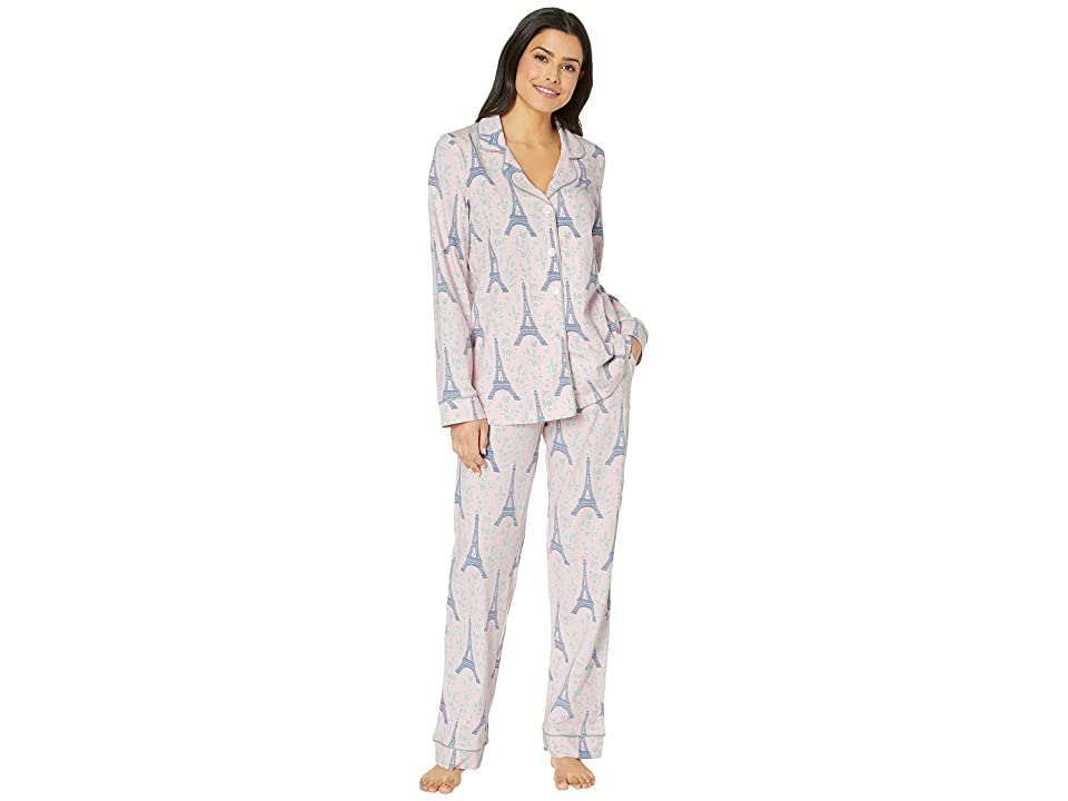 BedHead Pajamas Long Sleeve Classic Notch Collar Pajama Set (Colette