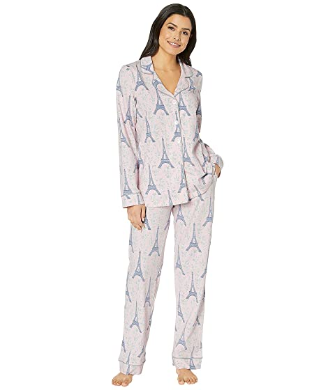 365bcbf48b BedHead Pajamas Long Sleeve Classic Notch Collar Pajama Set at ...
