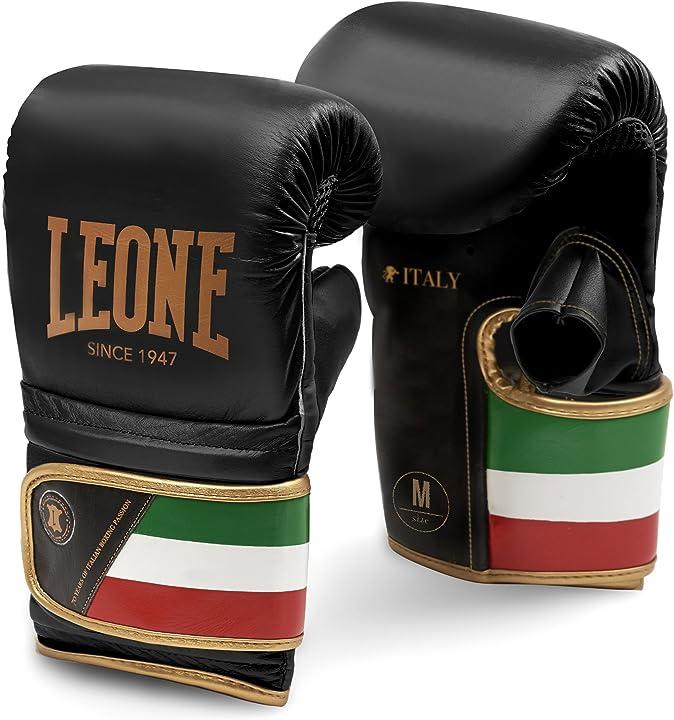 Guantoni boxe da sacco - leone 1947 italy, guanti da sacco unisex adulto GS090