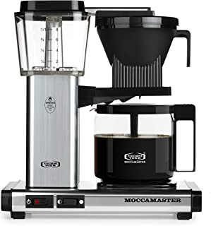 Technivorm Moccamaster 59616 KBG Coffee Brewer, 40 oz, Polished Silver (Renewed)
