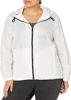 Big Chill Women's Lightweight Waterproof Packable Active Rain Jacket