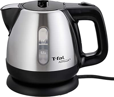 "T-FAL electric kettle ""Apureshia plus"" (0.8L) Metallic Noir BI805D70"
