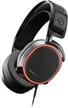 SteelSeries Arctis Pro High Fidelity Gaming Headset - Hi-Res Speaker Drivers - DTS Headphone: X v2.0 Surround for PC, Black