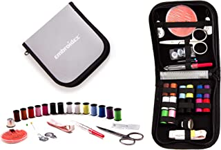 Embroidex Sewing Kit for Home, Travel & Emergencies -...
