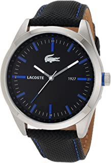 Lacoste Men's 2010597 Montreal Black with Blue Details Watch