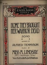 Home They Brought Her Warrior Dead Song - Piano Sheet Music